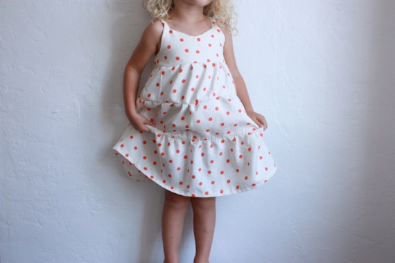 LAST CHANCE SALE summer days dress / pdf sewing pattern 12 months to 5t