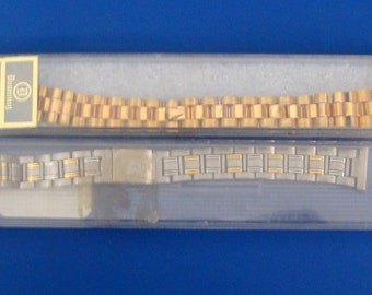 Two New Old Stock Vintage Watch Bands