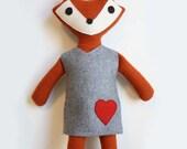 Girl Wool Fox Woodland Plush
