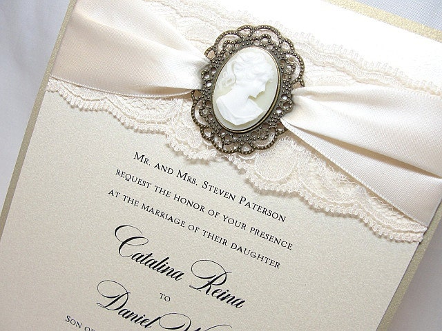 victorian wedding invitations, Wedding invitations