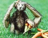 Artist Teddy Bear Rabbit PDF Sewing Pattern -  Carrot Topps
