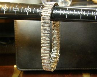 Ladies Diamond Tennis Bracelet Estate Item