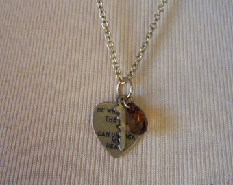 L577 Key to My Heart Necklace