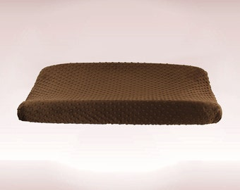 Brown Changing Pad Cover