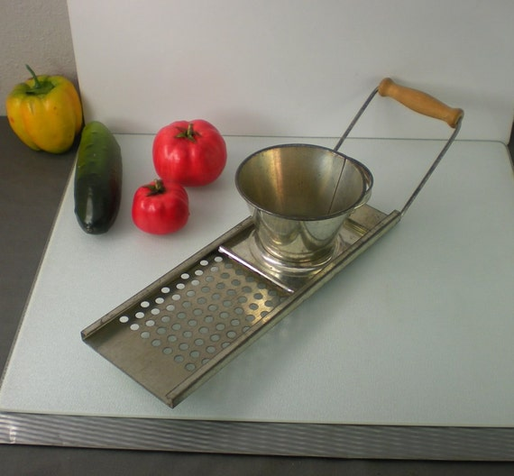 Spaetzle Noodle Maker Made In Austria By Oldetymestore On Etsy