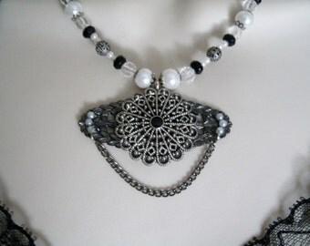 Victorian Necklace, gothic jewelry victorian jewelry renaissance jewelry medieval edwardian art nouveau neo victorian art deco tudor