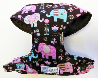 Elephant Comfort Soft Dog Harness. - Made to order -