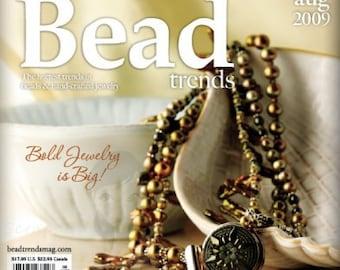 NEW Bead Trends Magazine August 2009 SBC