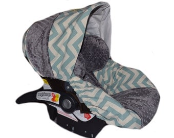 Safari Stretchy Car Seat Cover For Baby
