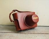 Argus C4 Case, Unused Leather Camera Case in Original Box