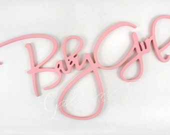 Baby Girl or Baby Boy wooden sign