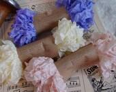 Shabby Wrinkled Sweet MARISSA ribbon bundle, 15 yards