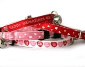 Valentine Cat or Xsmall dog Collar