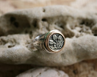 Made to Order ,Tulips Silver Ring, Solid Silver Ring, Handcrafted Ring, Sterling Silver Ring