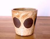 Ceramic Dot Planter/Cup