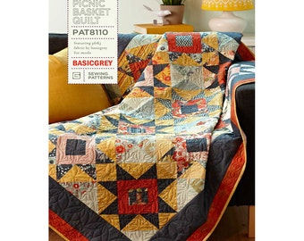 Picnic Basket Quilt Pattern by BasicGrey
