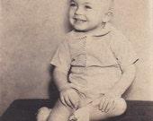 Smiling Boy - Vintage Photograph, Vernacular, Ephemera (J)