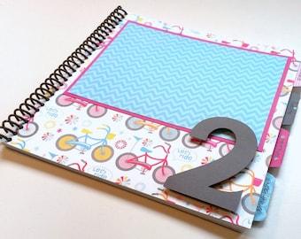 Baby Memory Book * Birthday Photo Book * Girl Baby Book * Spunk & Love Modern Baby Book * ELLIE Design