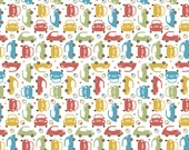 Cruiser Blvd Mini Green by Sheri McCulley Studio for Riley Blake, 1/2 yard