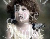 Naomi-Little Girl-Victorian Digital Download