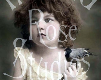 Naomi-Little Girl-Victorian Digital Download