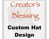 RESERVED for TESS - Made-To-Order - Creator's Blessing Made-to-Order Hat/Crown