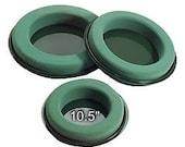 """Oasis Floral Foam Design Rings - 10.5""""  2 per pack"""