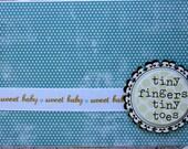 Baby Boy congrats, New Baby Boy Conngrats, Newborn card-Sweet Baby Boy