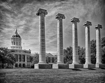 University of Missouri in Columbia Missouri - Fine Art Photograph 5x7 8x10 11x14 16x20 24x30