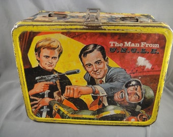 The Man From U.N.C.L.E. King-Seeley Thermos Lunchbox