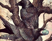 "Ravens 16x20"" Print"