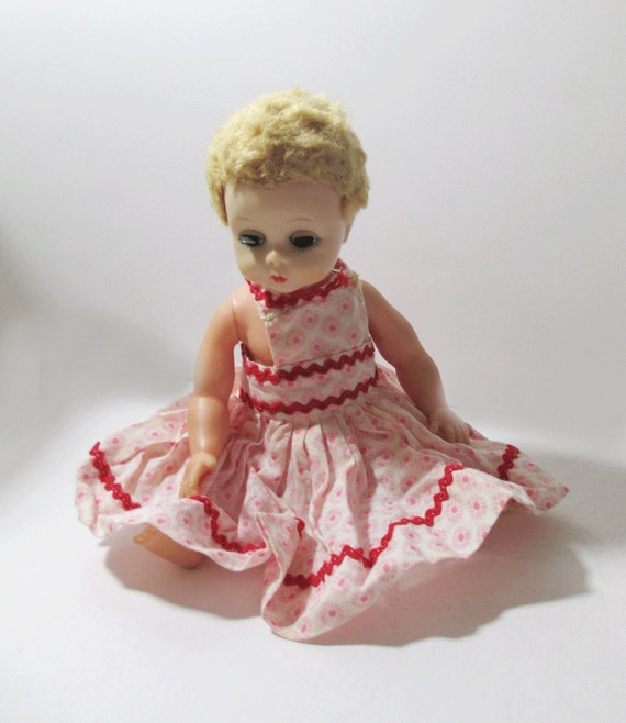 Vintage Madame Alexander Little Genius Baby Doll With Mommy