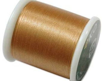 Tools & Supplies-K.O. Thread-Gold-55 Yard Spool-Quantity 1