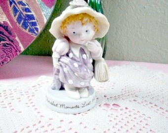 1983  Avon Cherished Moments Last Forever, Dress Up like Mommy, Mothers Day Gift, Home Decor