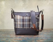 NEW Leather Camera bag - Convertible Handbag with Insert -  Pre-Order