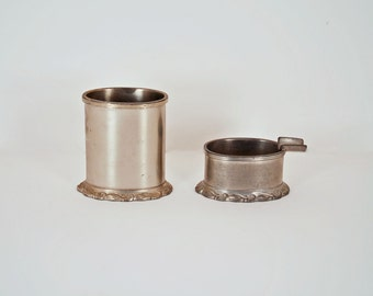 Royal Holland Pewter - Cigarette Holder and Personal Ashtray