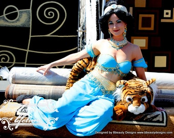 Custom Jasmine Princess Couture Adult Costume