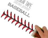 Baseball Stitches Design Tape 48mm / 1.88inch