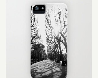 iPhone 6 Case Trees Black and White photography paris