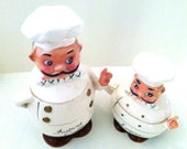 Vintage Chef Coffee Container Sugar Bowl