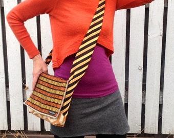 Ipad Bag Eco Friendly Upcycled Padded Messenger Bag