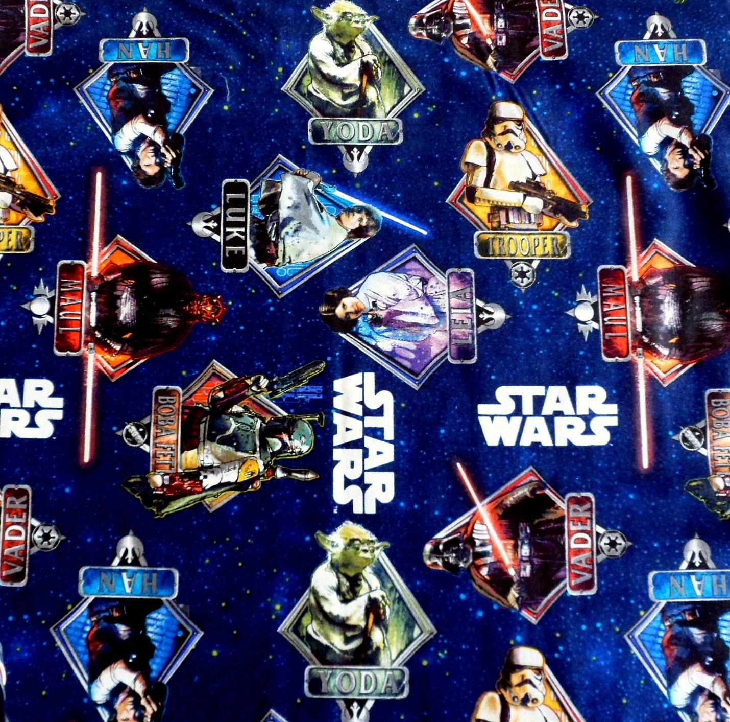 Star Wars Cotton Fabric Camelot Fabrics