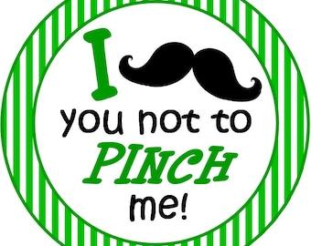 St. Patrick's Day Hat mustache