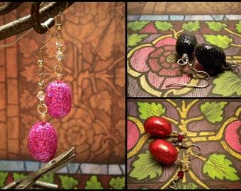 Dragon Egg Earrings - Choose Your Color