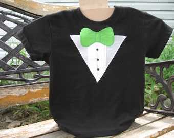 Boys Tuxedo T-shirt