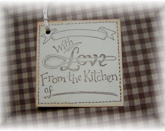 Baking Tags - From the Kitchen of - Baked with Love - Baking Tags (8)