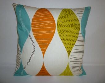 "Cinammon Orange Pillow Cover 4 CHOICES Mix Match Designer Orange Accent Slip Scatter Orange Throw Pillow ONE 16"" (40cm)"