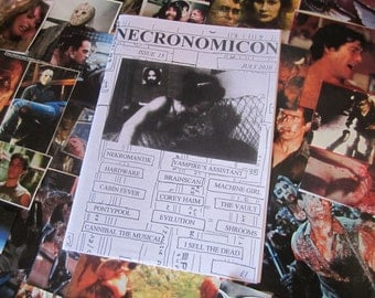 NECRONOMICON 15 horror fanzine UK zine Nekromantik July 2010 geek retro movies