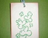 St. Patrick's Day Tags - Shamrocks - Four Leaf Clover - Ireland - Irish -  St. Patty's Day - Set of Six