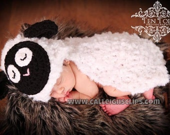 Fleecy The Lamb- Cuddle Critter Cape Set  -Photography Prop